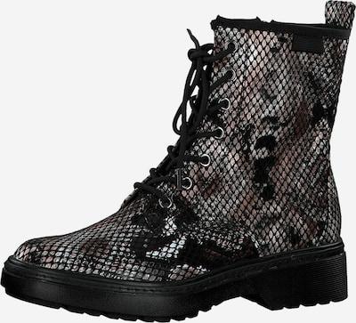 Suvarstomieji kulkšnis dengiantys batai iš TAMARIS , spalva - pilka / juoda, Prekių apžvalga
