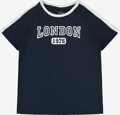 NAME IT Koszulka 'Vasti' w kolorze szafir / białym, Podgląd produktu