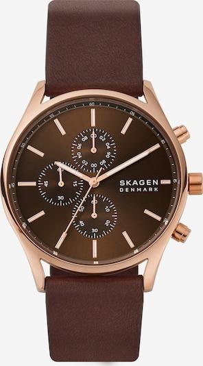 SKAGEN Uhr in braun, Produktansicht