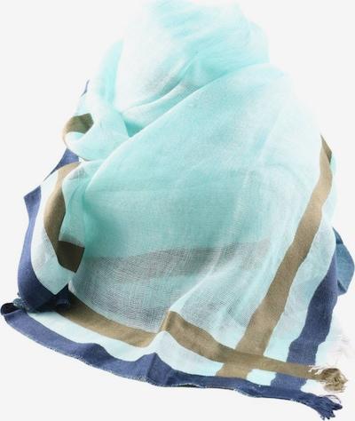 Schneider & Friends Sommerschal in One Size in blau / türkis / bronze, Produktansicht