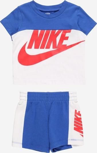 Nike Sportswear Set - kráľovská modrá / červená / biela, Produkt