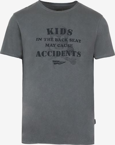Scalpers T-Shirt 'Accident' in grau, Produktansicht