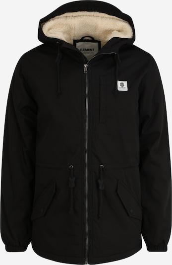 ELEMENT Parka in schwarz, Produktansicht