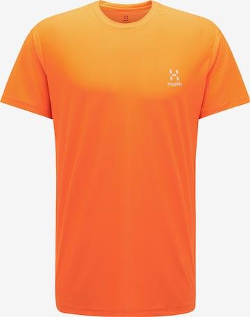 T-Shirt fonctionnel 'L.I.M Tech' Haglöfs en orange