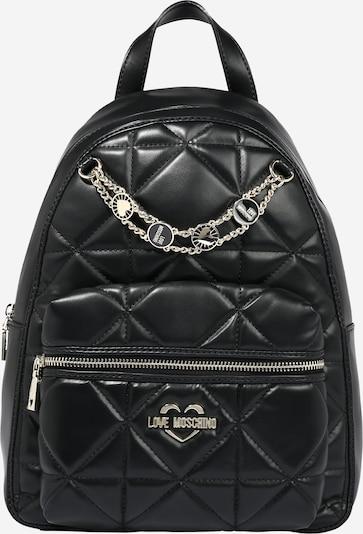 Love Moschino Rucksack in schwarz, Produktansicht