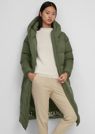 Marc O'Polo Mantel in grün, Modelansicht