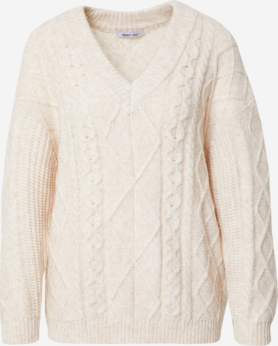ABOUT YOU Sweater 'Juna' in Cream, Item view