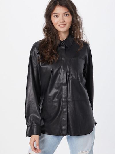 Calvin Klein Jeans Bluse in schwarz, Modelansicht