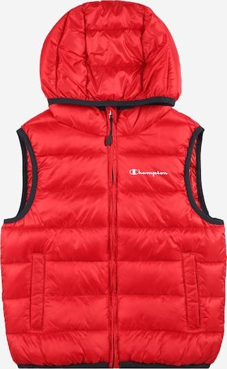 Gilet Champion Authentic Athletic Apparel di colore rosso, Visualizzazione prodotti