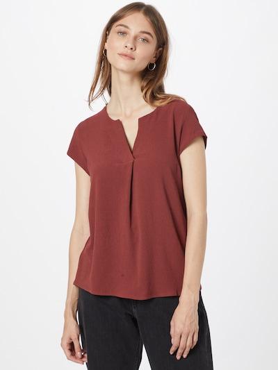 Bluză 'Lulu' ABOUT YOU pe roşu închis, Vizualizare model