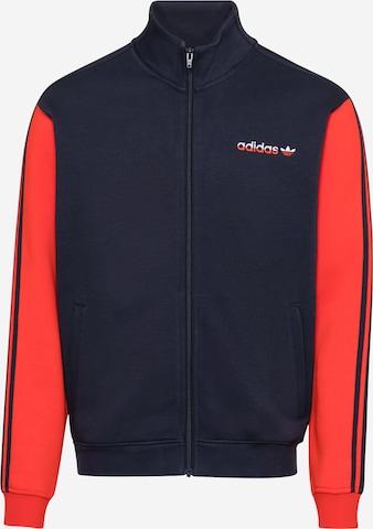 ADIDAS ORIGINALS Fleece jacket 'Firebird' in Blue
