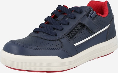 GEOX Sneaker 'J ARZACH' in navy / rot / weiß, Produktansicht