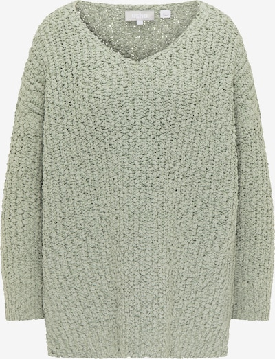 Usha Oversized Sweater in Pastel green, Item view