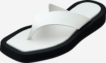 EDITED T-Bar Sandals 'Keana' in White