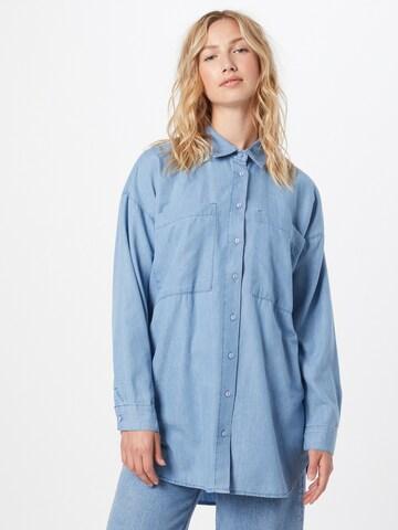 DeFacto Блуза в синьо