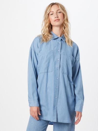 Bluză DeFacto pe albastru denim, Vizualizare model