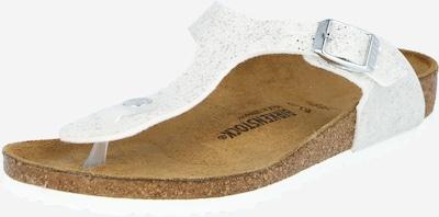 BIRKENSTOCK Sandale 'Gizeh' in weißmeliert, Produktansicht