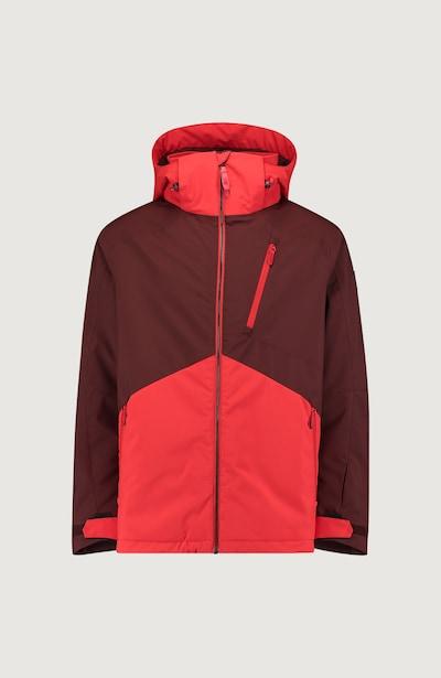 Sportinė striukė 'Aplite' iš O'NEILL , spalva - šokolado spalva / šviesiai raudona, Prekių apžvalga