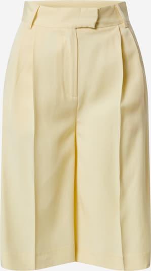 Another Label Shorts 'Dryade' in hellgelb, Produktansicht