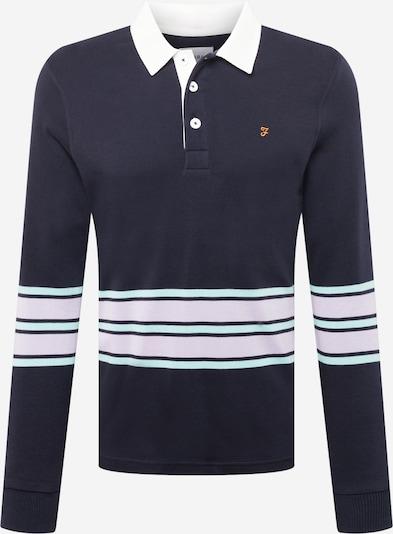 FARAH Shirt in navy / mint / lila / weiß, Produktansicht
