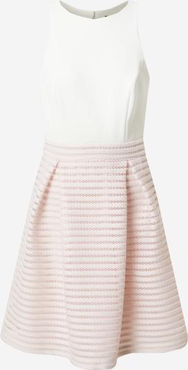 SWING Šaty - pastelovo ružová / biela: Pohľad spredu