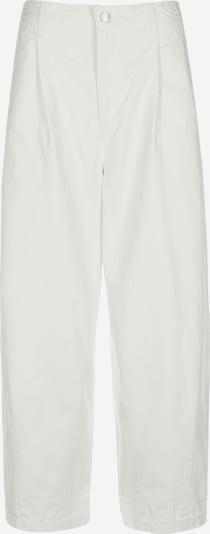 LEVI'S Voltidega püksid 'Utility Pleated Balloon' valge: Eestvaade