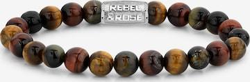 Rebel & Rose Armband in Braun