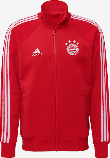ADIDAS PERFORMANCE Jacke 'FC Bayern München' in rot / weiß, Produktansicht