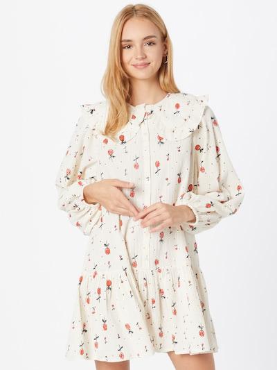 Stella Nova Kleid 'Sassimay' in rot / schwarz / weiß, Modelansicht