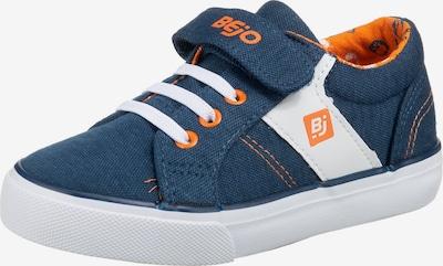 BEjO Flats ' CORDELIS ' in Blue / Orange / White, Item view