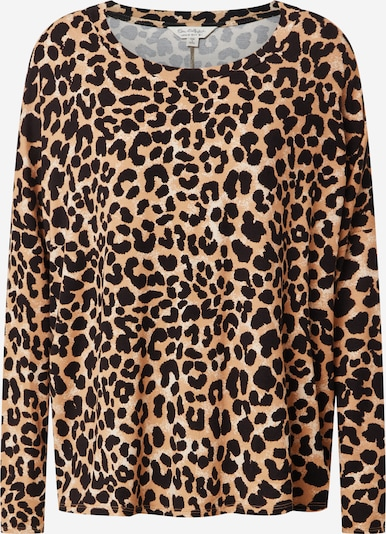 Miss Selfridge Oversized shirt in de kleur Beige / Zwart / Wit, Productweergave