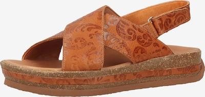 THINK! Sandalen in cognac, Produktansicht