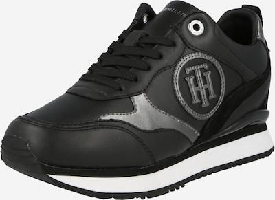 Sneaker low TOMMY HILFIGER pe gri argintiu / negru, Vizualizare produs