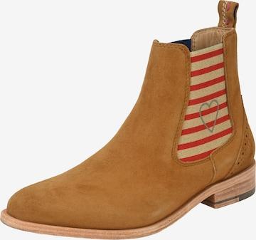 Crickit Chelsea Boot 'SUVI' in Braun