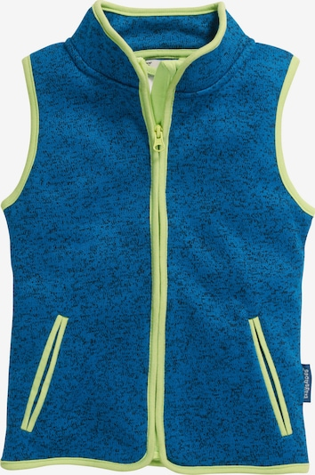 PLAYSHOES Bodywarmer in de kleur Royal blue/koningsblauw / Limoen, Productweergave