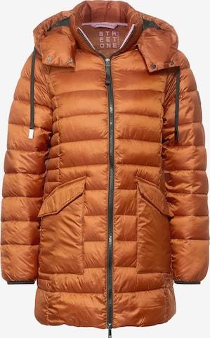 Veste d'hiver STREET ONE en orange