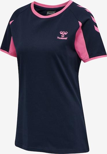 Hummel T-shirt fonctionnel en rose néon / noir, Vue avec produit