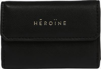 Maison Hēroïne Porte-monnaies 'MAYA' en noir, Vue avec produit