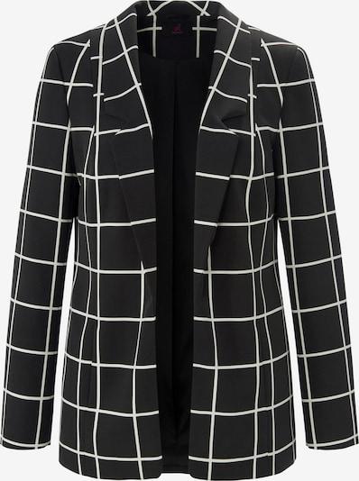 Emilia Lay Blazer in schwarz / weiß, Produktansicht