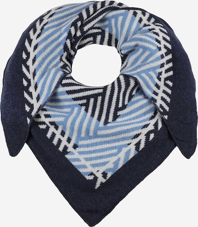 Zwillingsherz Wrap in Navy / Light blue / White, Item view