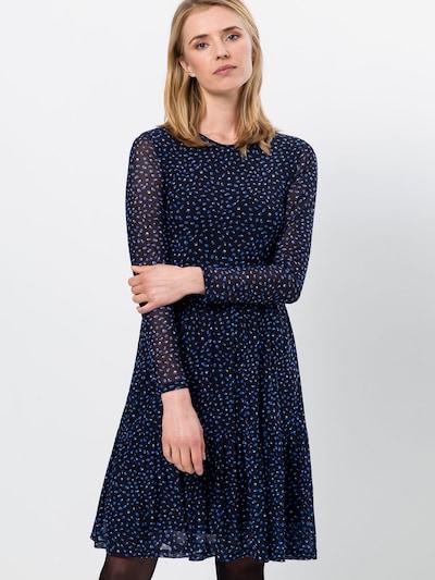 zero Kleid in blau / schwarz, Modelansicht