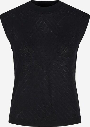 Y.A.S Strickoberteil in schwarz, Produktansicht
