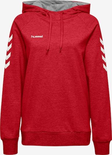 Hummel Sportsweatshirt in rot / weiß, Produktansicht