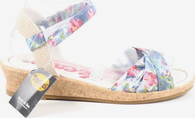 Dockers Riemchen-Sandaletten in 42 in blau / pink / wollweiß, Produktansicht