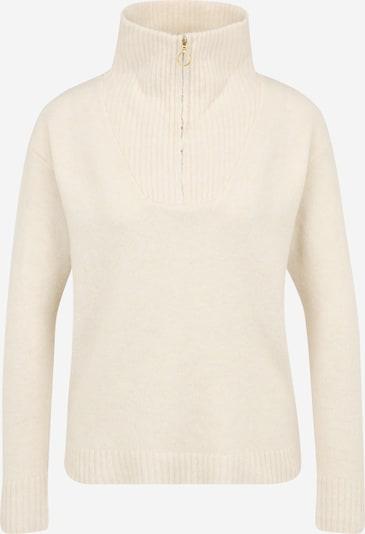 Pieces Petite Pullover in wollweiß, Produktansicht