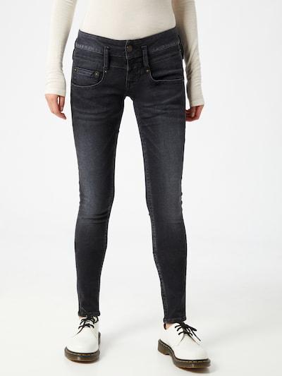 Herrlicher Jeans in de kleur Black denim, Modelweergave
