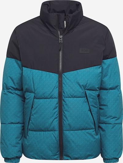 Žieminė striukė iš EDC BY ESPRIT , spalva - tamsiai mėlyna jūros spalva / nefrito spalva: Vaizdas iš priekio