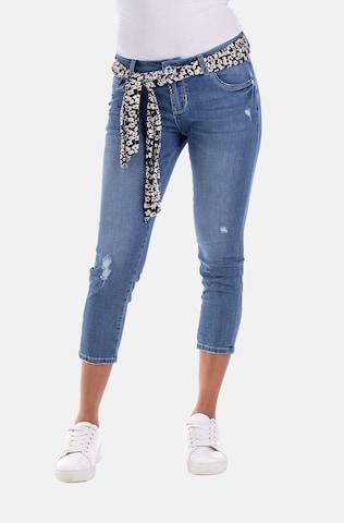 Blue Monkey Jeans 'Cherry' in Blue