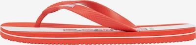 Superdry Séparateur d'orteils en corail / noir / blanc, Vue avec produit
