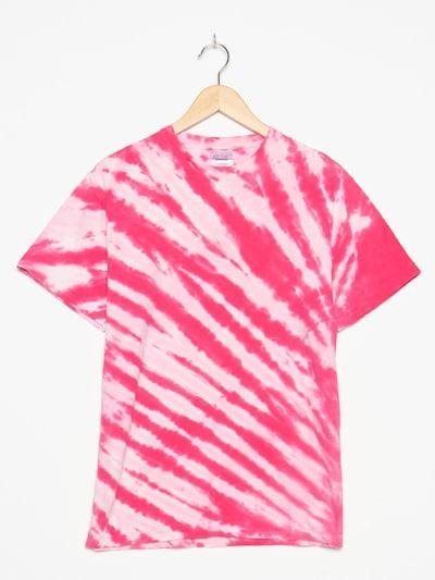Port & Company Tie Dye Shirt in S-M in rosa, Produktansicht